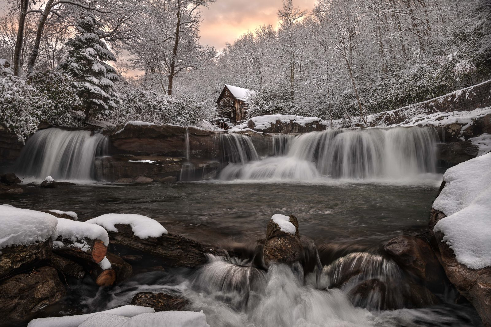 Winter at the Grist Mill