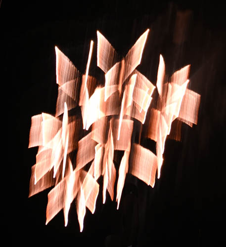 Firework Sculpture