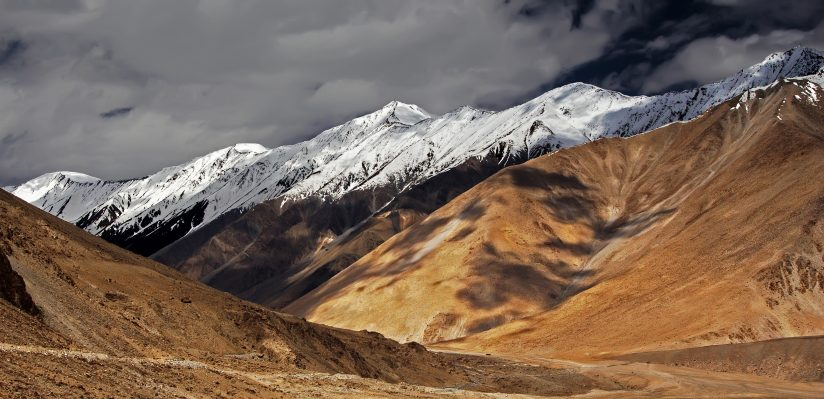 Ladakh mountain range