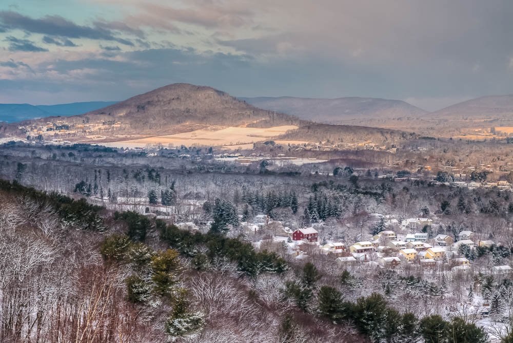 Winter in the Conyngham Valley