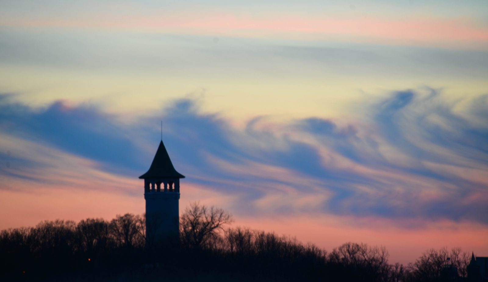 Witches Hat Tower at Sunset