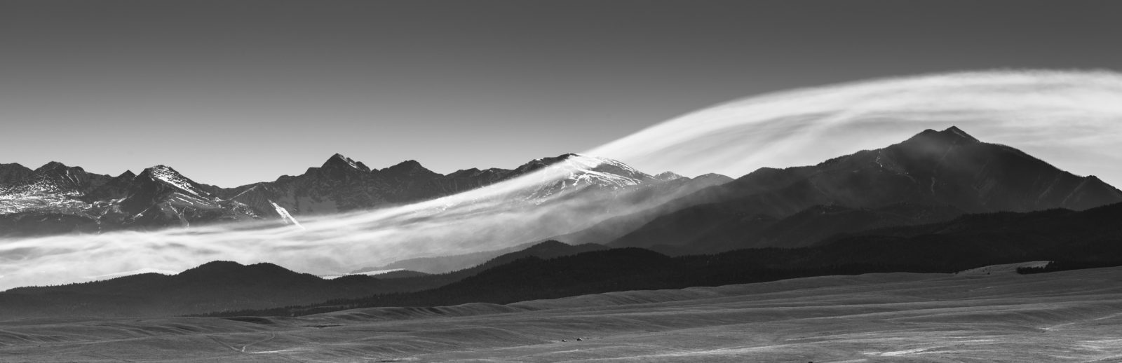 Wave Cloud Over Sierra Blanca
