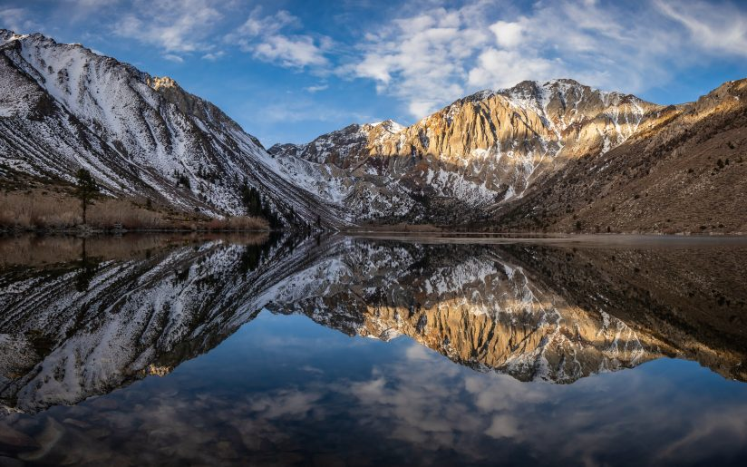 Relaxing at Convict Lake
