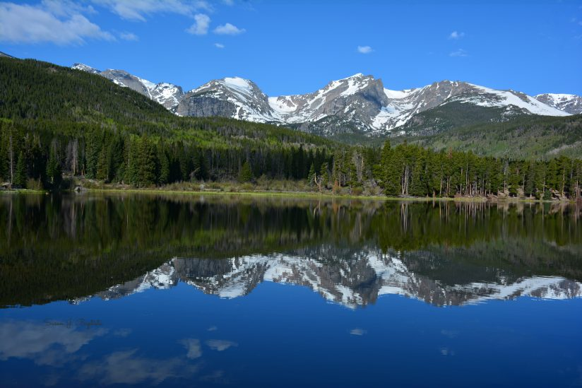 Sprague Lake-Rocky Mountain National Park
