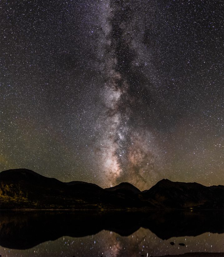 Twin Lakes Milky Way Reflection