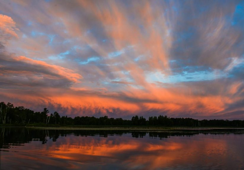 Clouds Before the Sunrise
