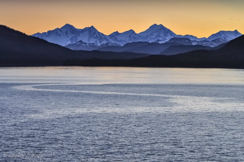 Inside Passage at Twilight