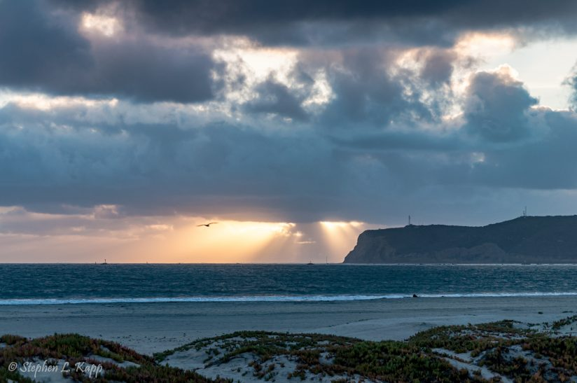 End of Day God-Beams