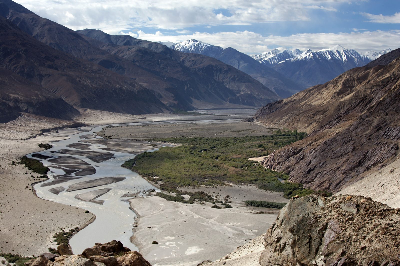 Lookin down at Nubra valley