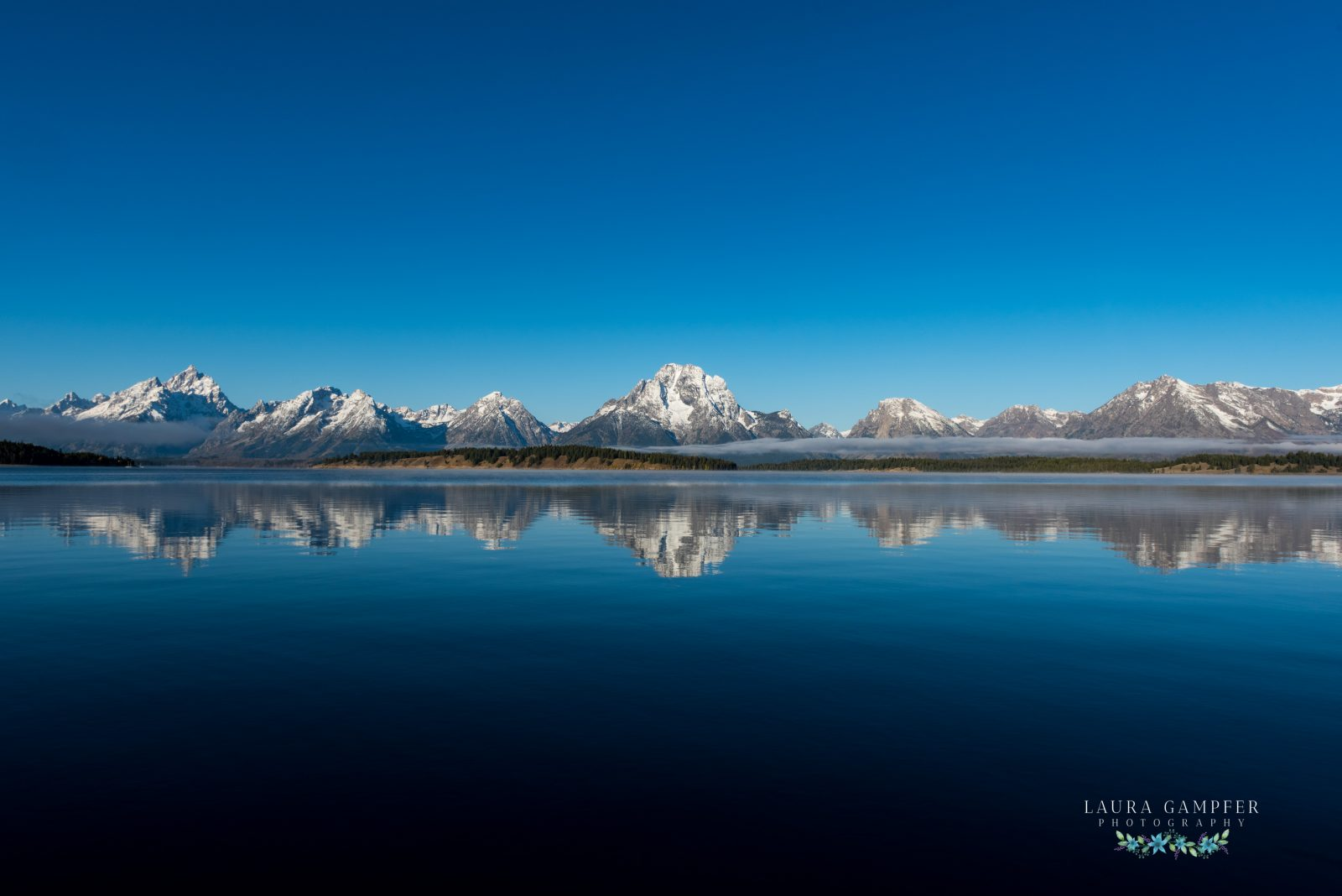 Reflections of the Grand Tetons, Wyoming