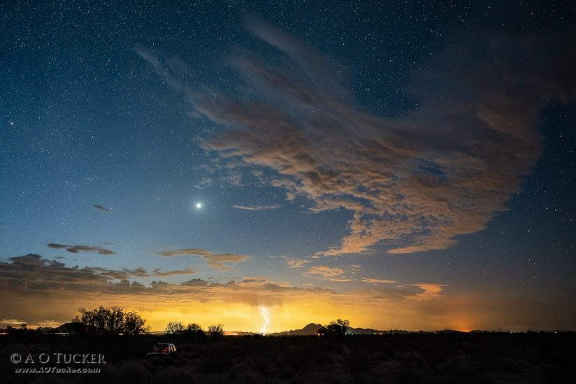 Venus With A Touch Of Lightning