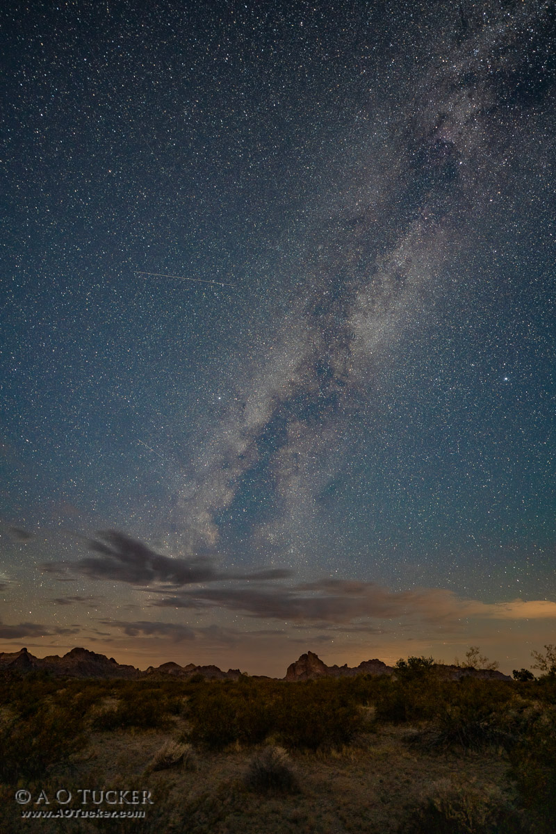 Milky Way Over Courthouse Rock