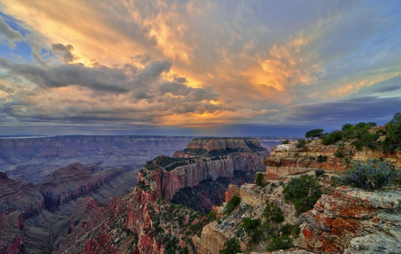 Grandeur Over the Grand Canyon