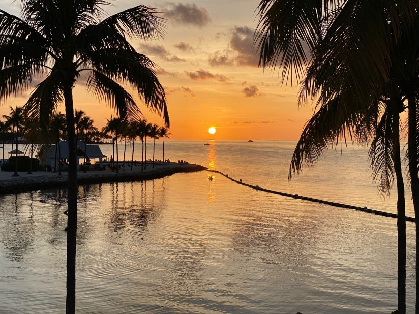 Sunset in the Keys