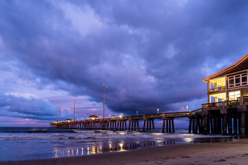 Storms over Jeannette's Pier