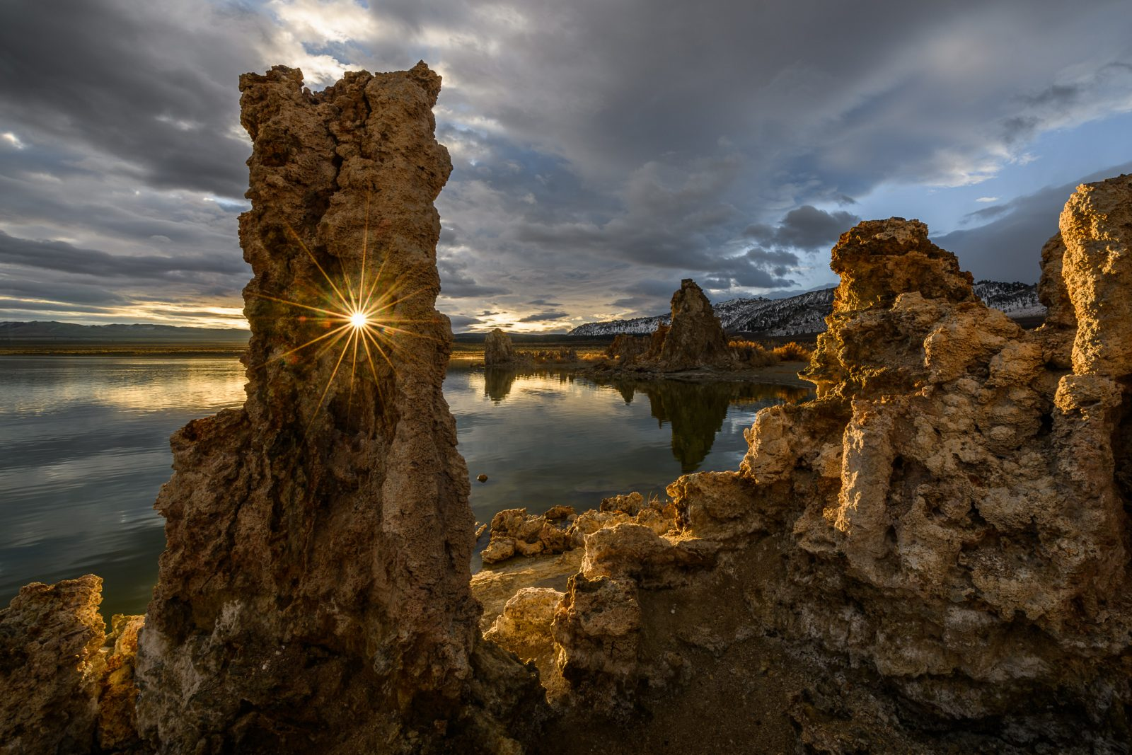 Golden Hour at South Tufa