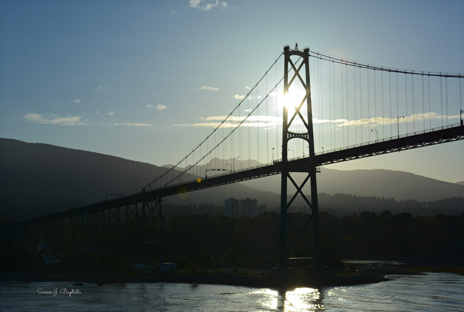 Lion's Gate Bridge Sunrise