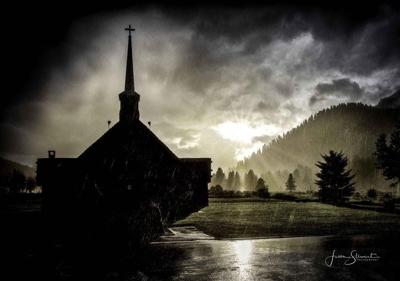 The Storm at Soldiers Chapel
