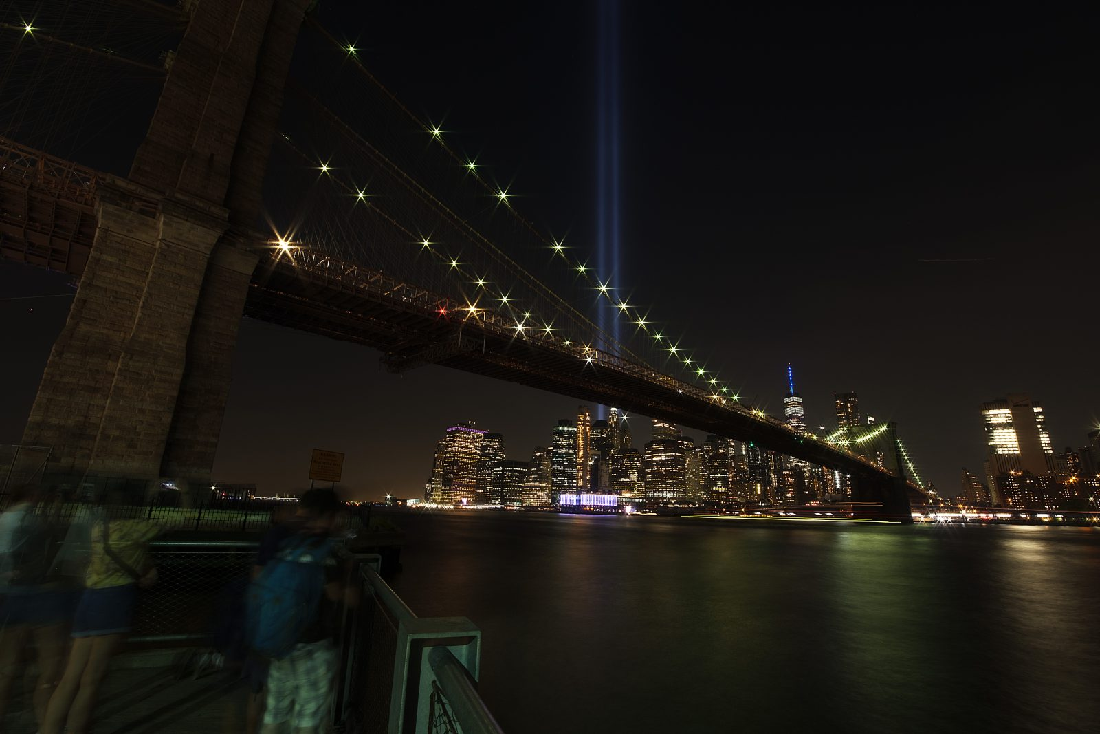 A tribute in lights