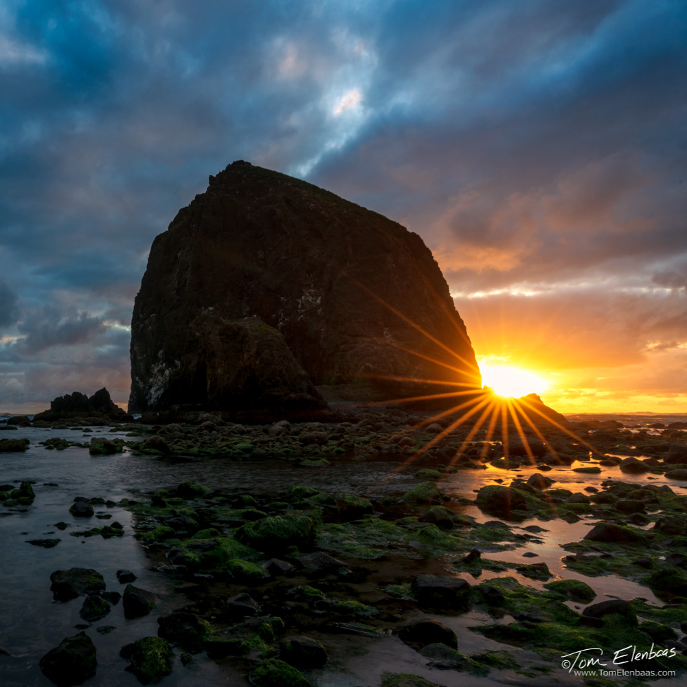 Haystack Rock Sunset