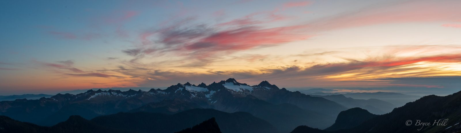 Twin Sisters Sunset