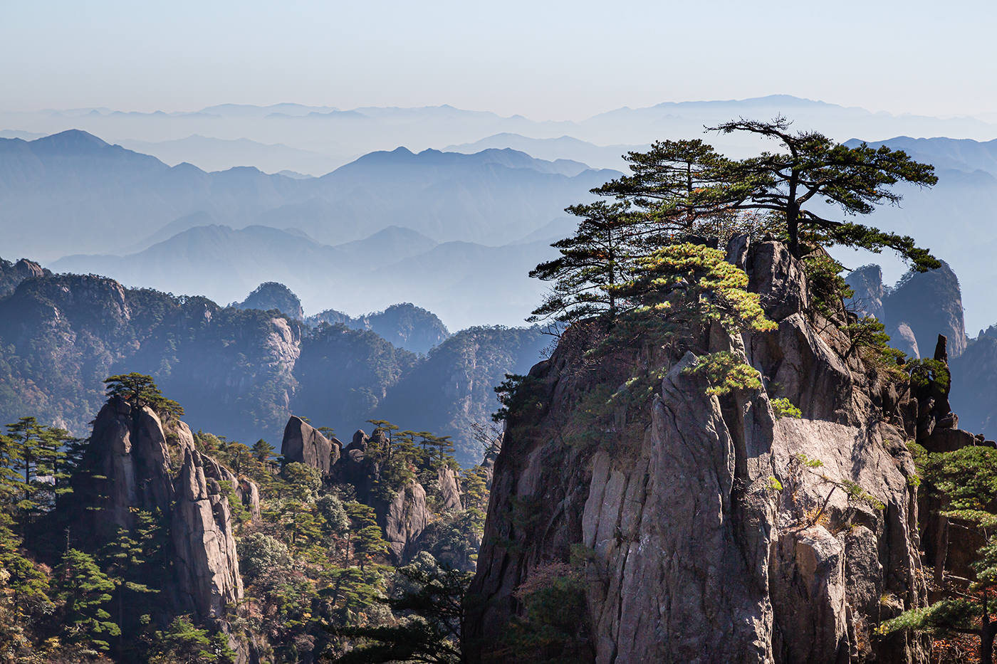 Late Morning in Huangshan