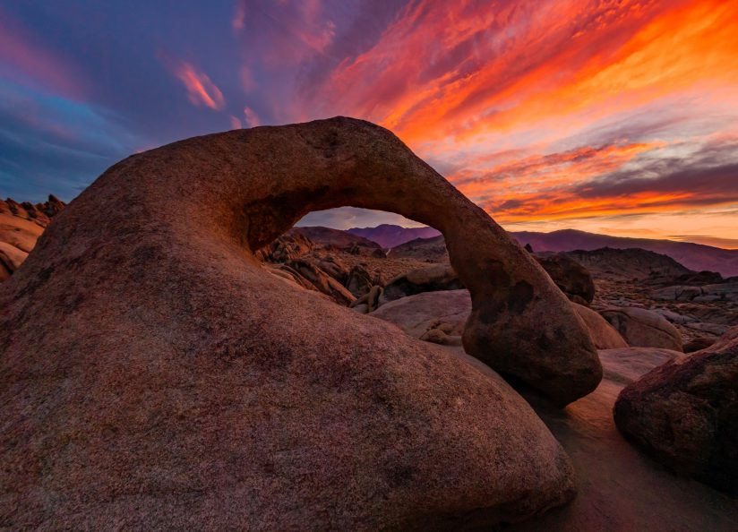 Mobius Arch Looking East