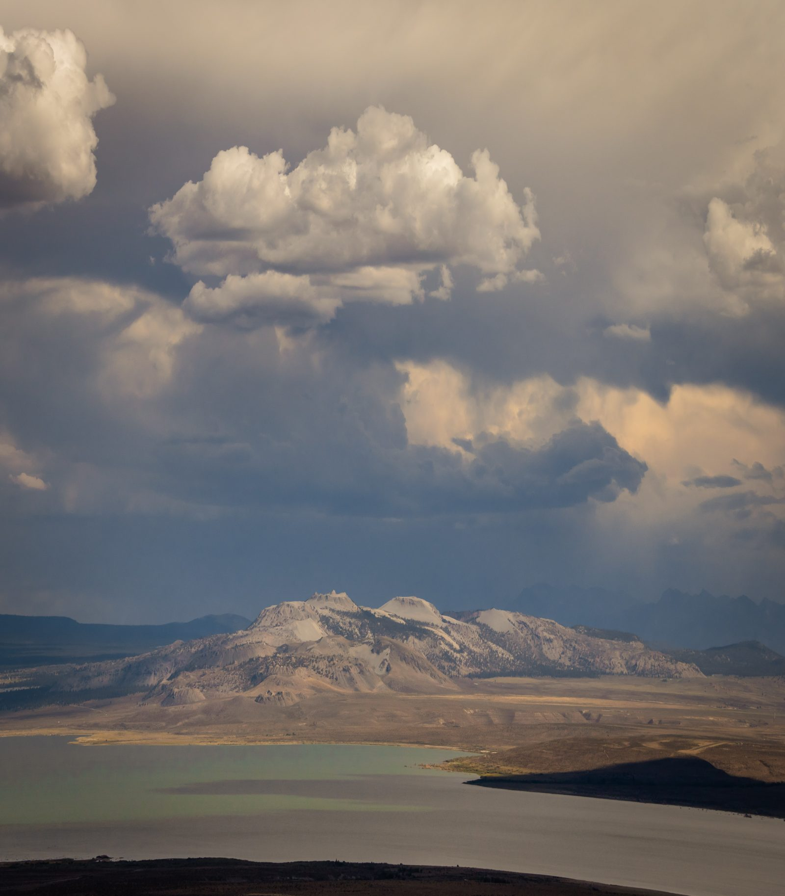 Summer Clouds Over Mono Craters