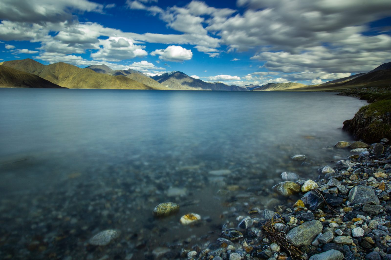 Pangong , World's highest saltwater lake