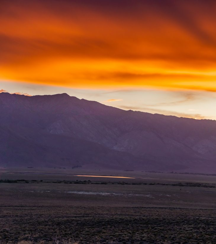 North End Of Owens Valley