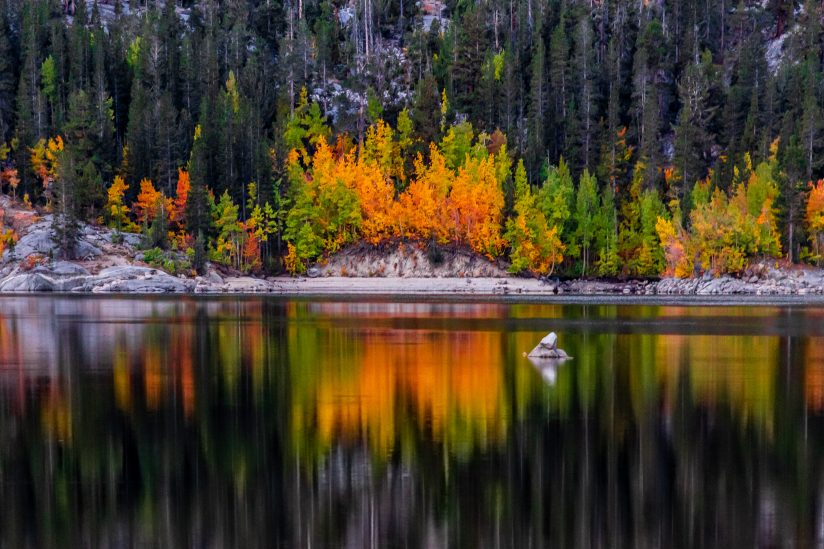 Fall Colours at Lake Sabrina
