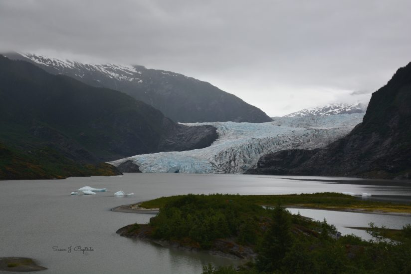 Mendenhall Glacier In The Rain