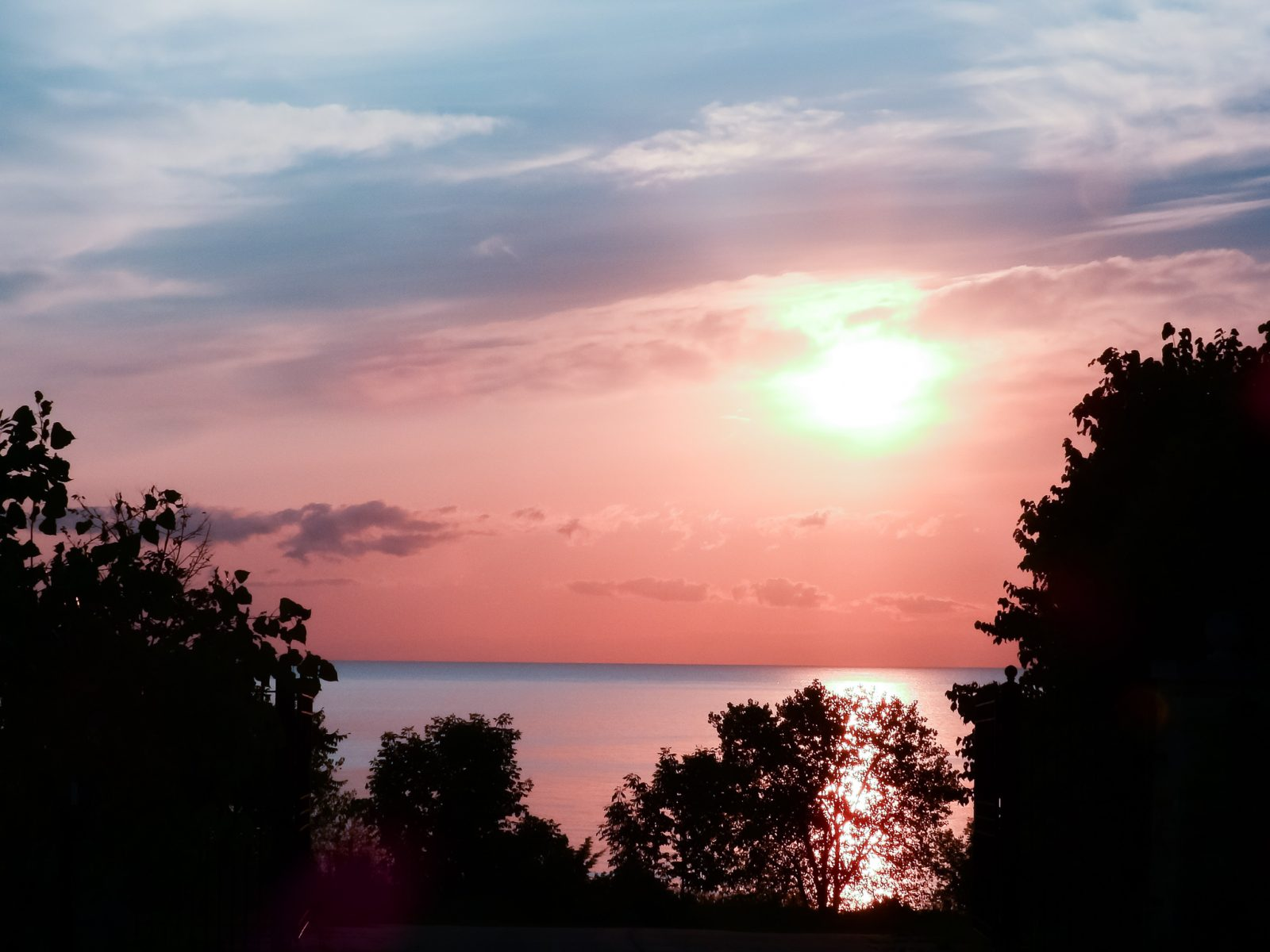 Summer Sunrise on Lake Michigan