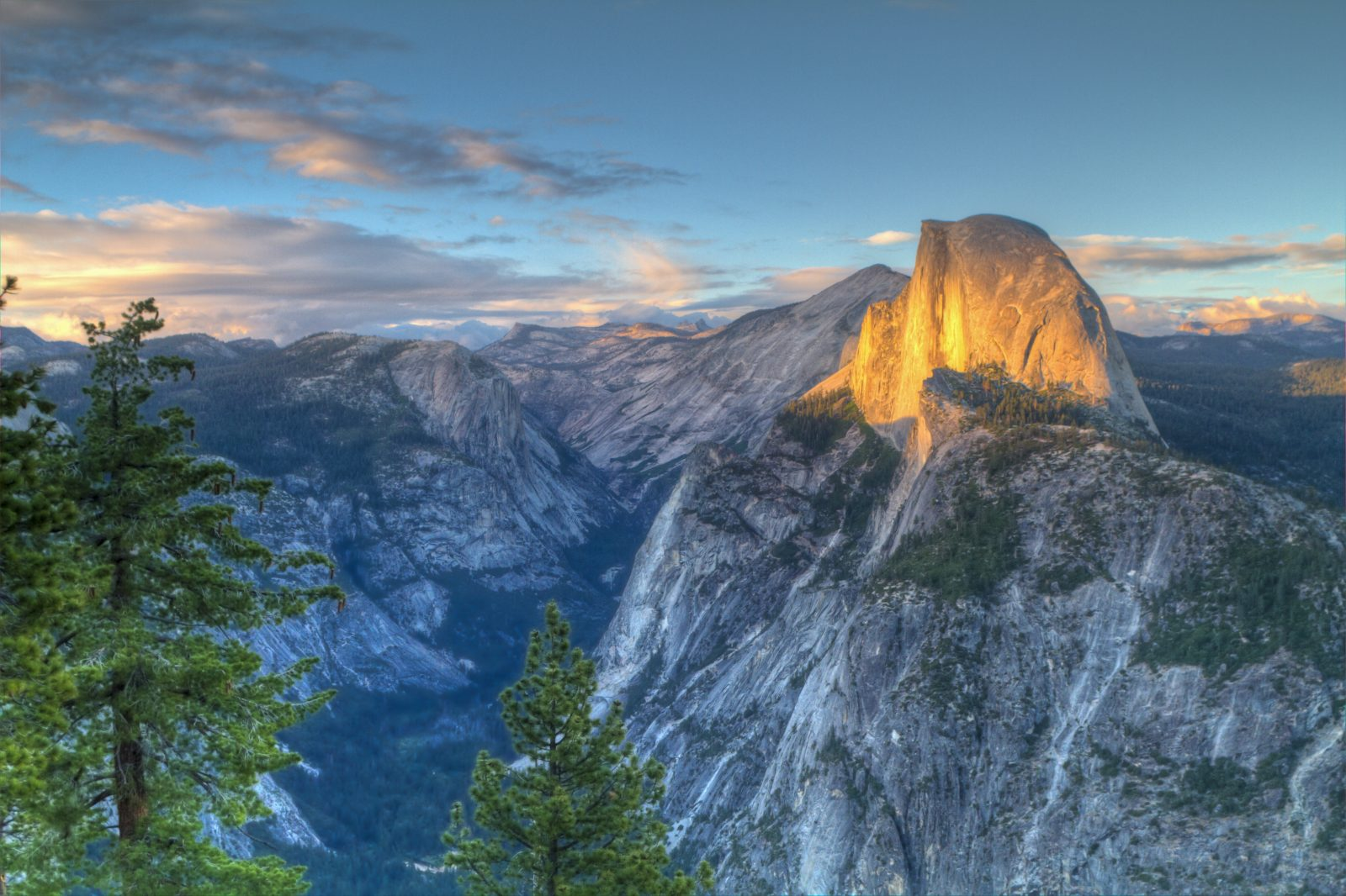 Half Dome – Glacier Point