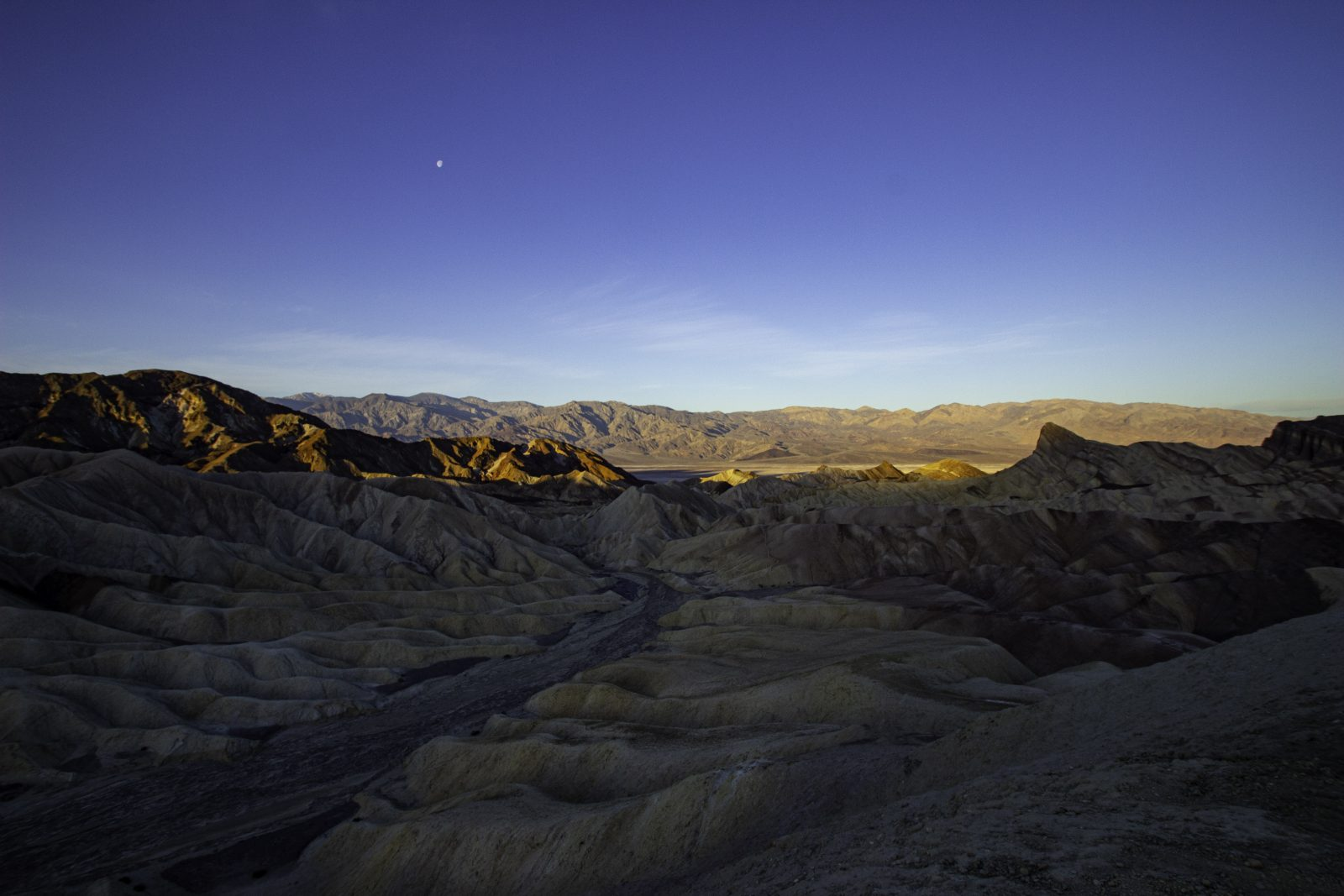 Sunrise Over Death Valley