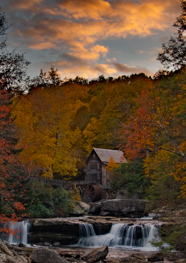 Sunset at the Grist Mill