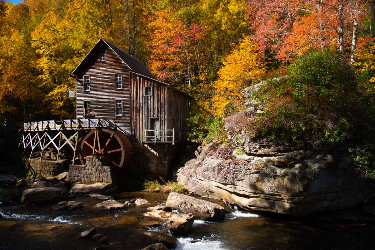 Morning at the Grist Mill