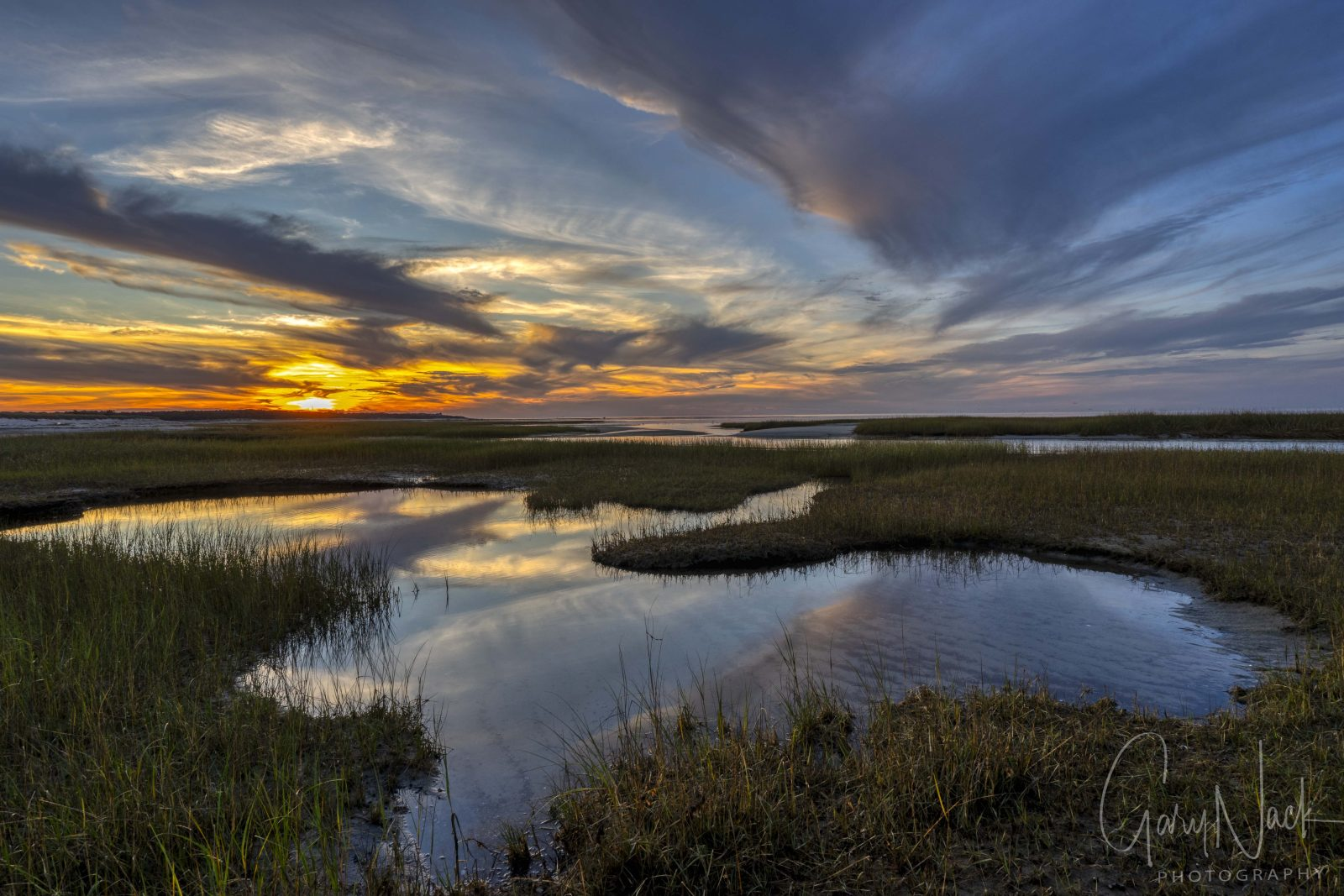 Marshes Sunset