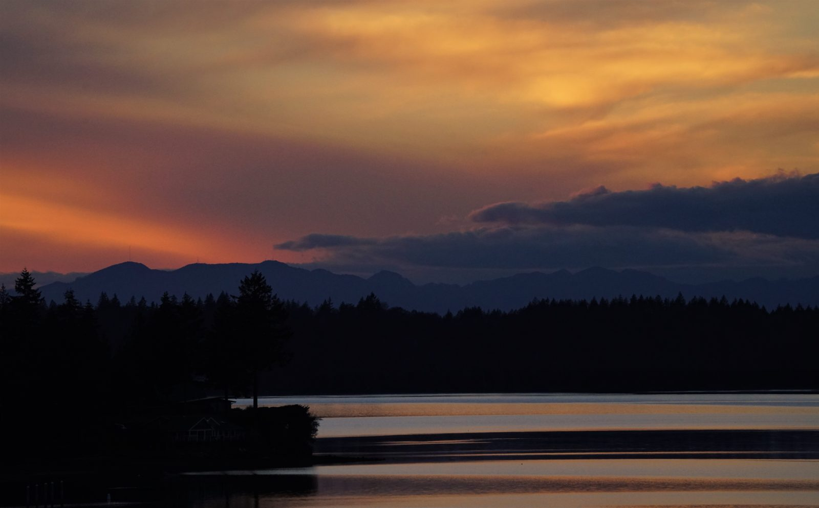 Case Inlet sunset