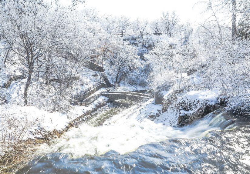 Minnehaha Falls from the Top