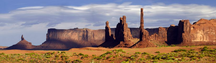 Monument Valley Totem Poles
