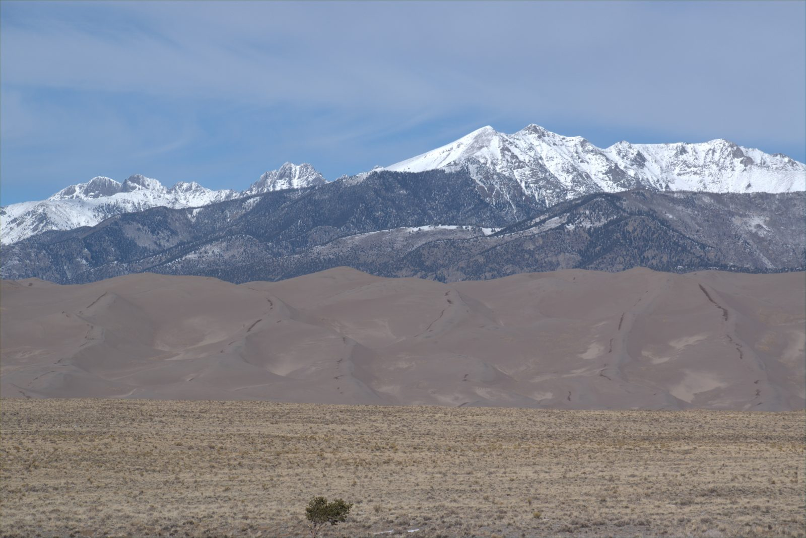 Layers at Great Sand Dunes National Park and Preserve