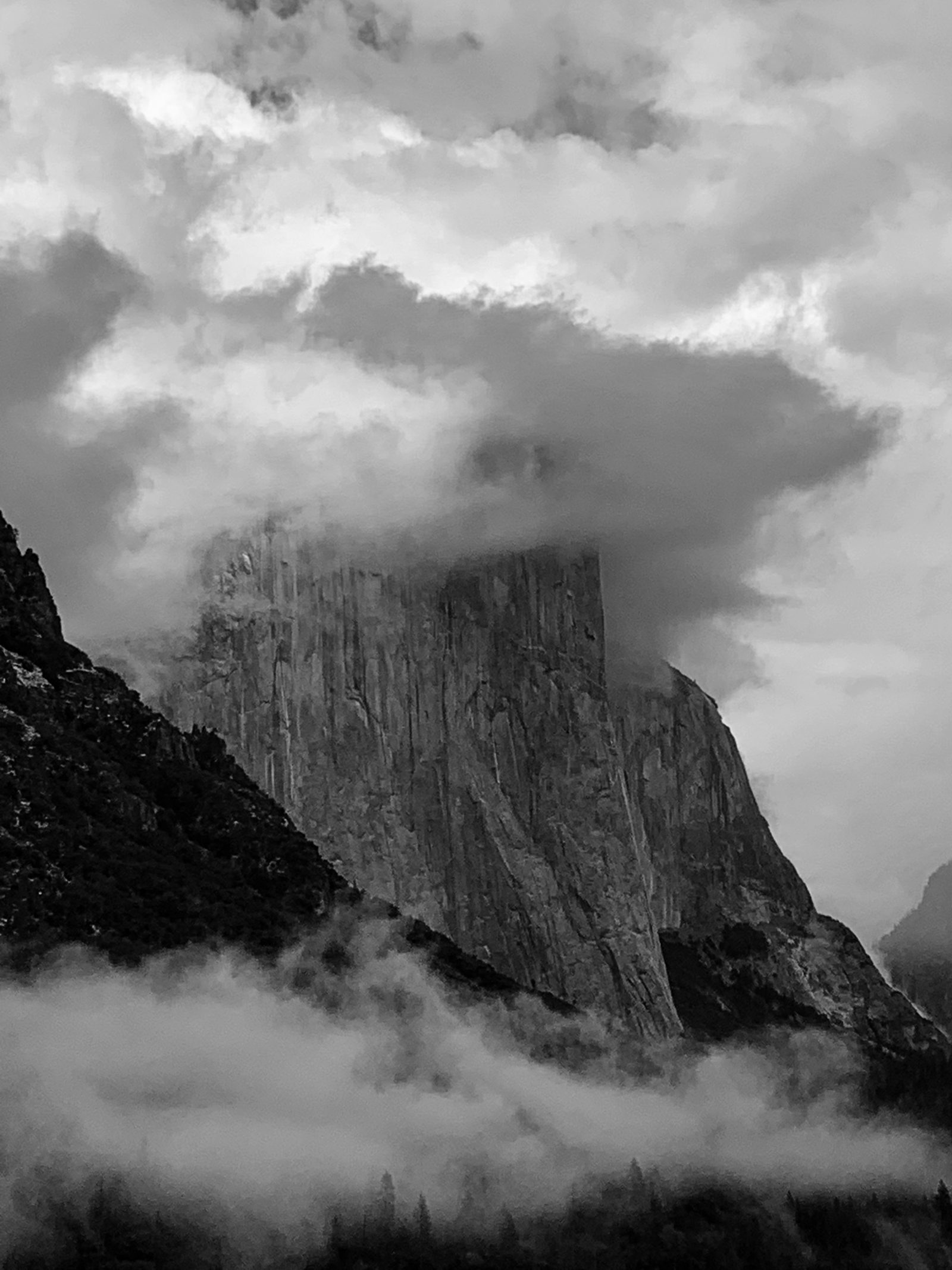 Tunnel View Storm Clearing