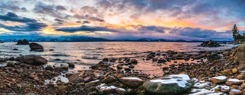 Lake Tahoe Sunset.