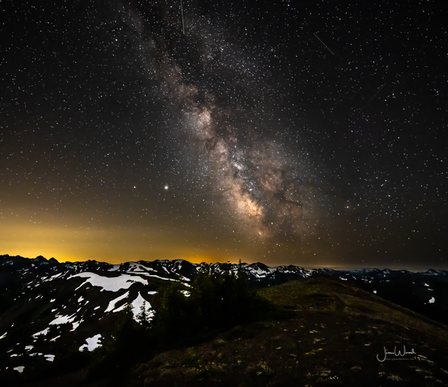 Milky Way from 6,450 ft Obstruction Peak