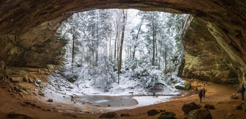 Ash Cave in Winter