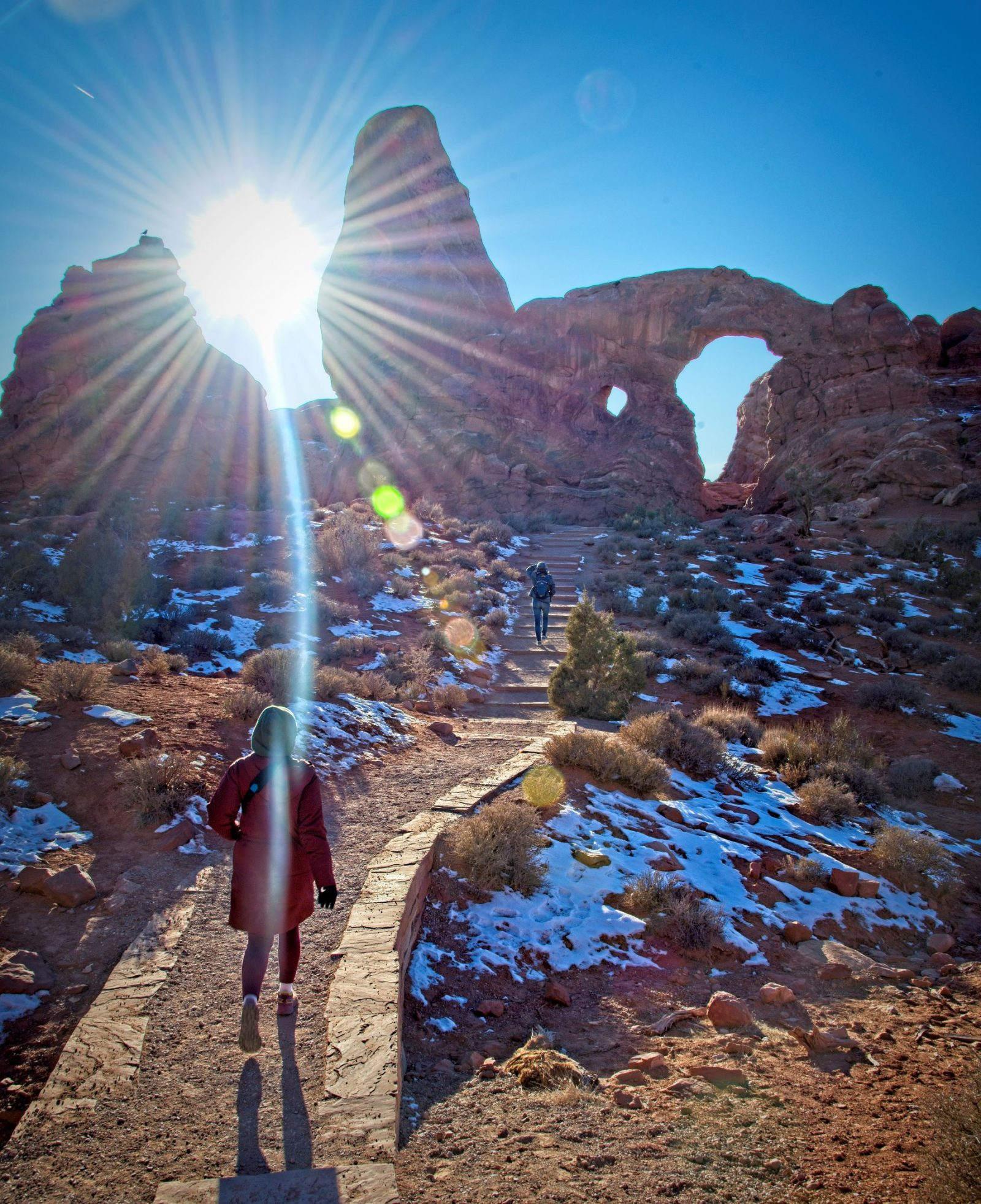 Exploring the Arches National Park