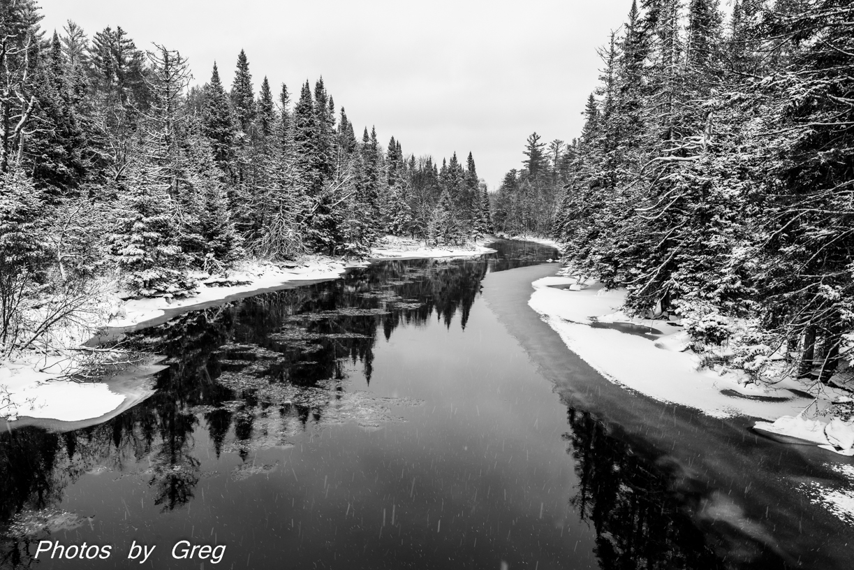 West Branch After Snow