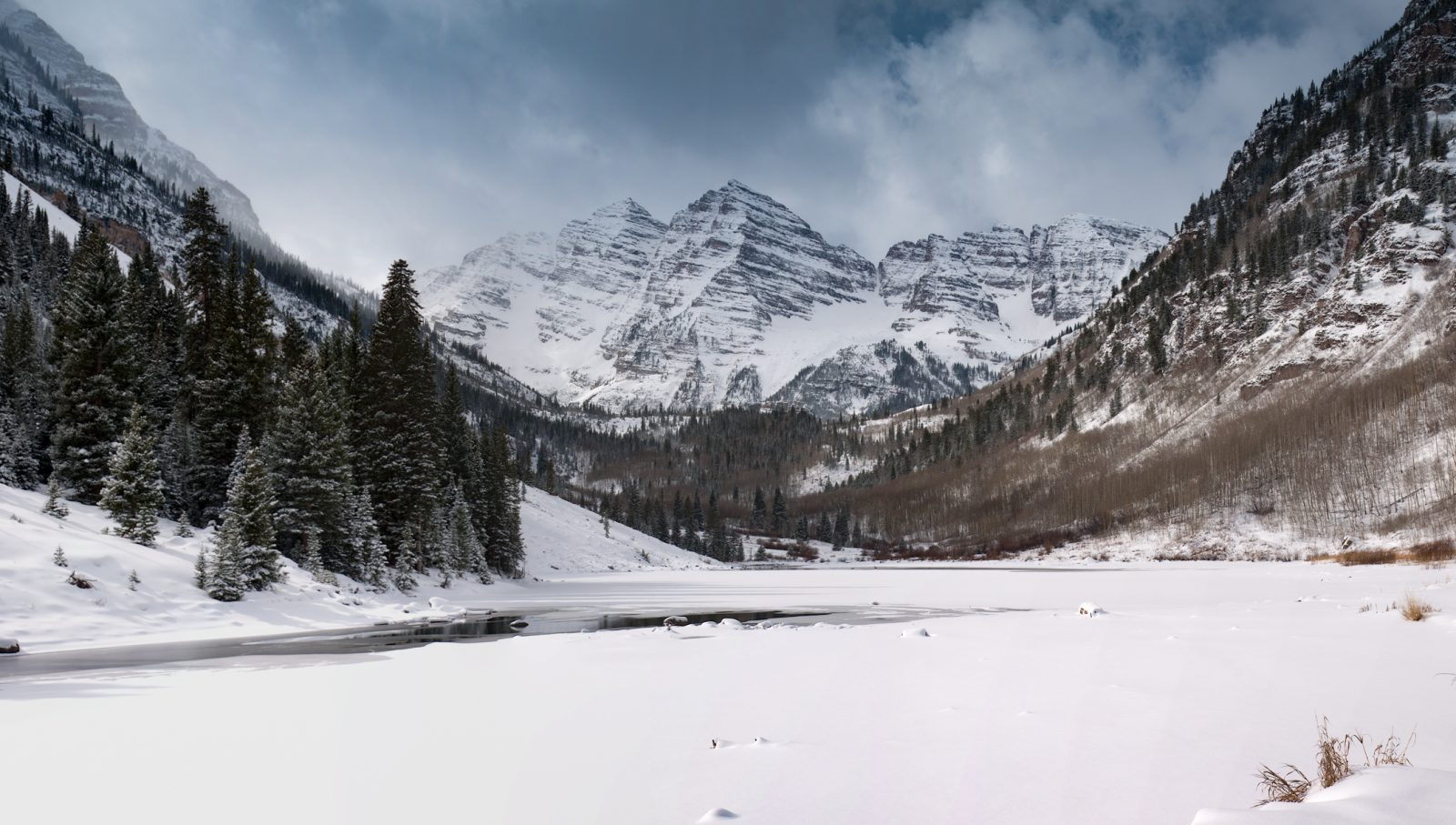 Early Winter at the Maroon Bells