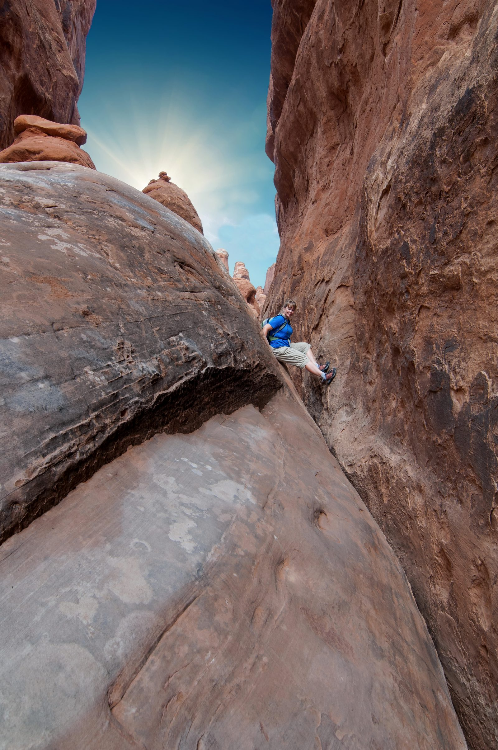 Light over Fiery Furnace